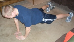 P90X Diamond Push Ups