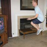 P90X Plyometrics Jump Knee Tuck