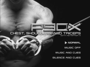 P90X Chest, Shoulders & Triceps