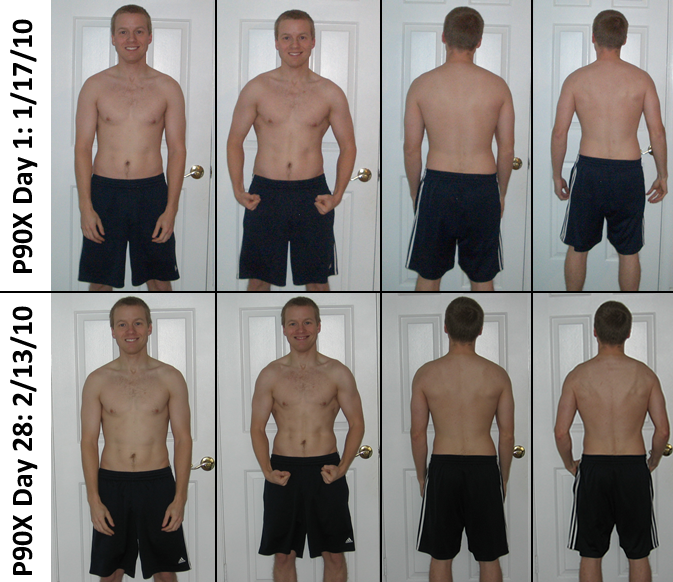 P90X Results: Day 1 &a... P90x
