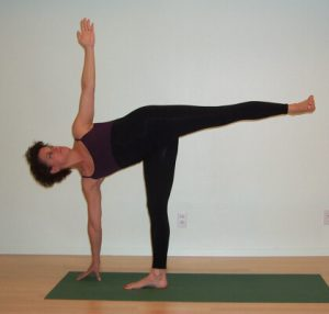 P90X Yoga X Half Moon