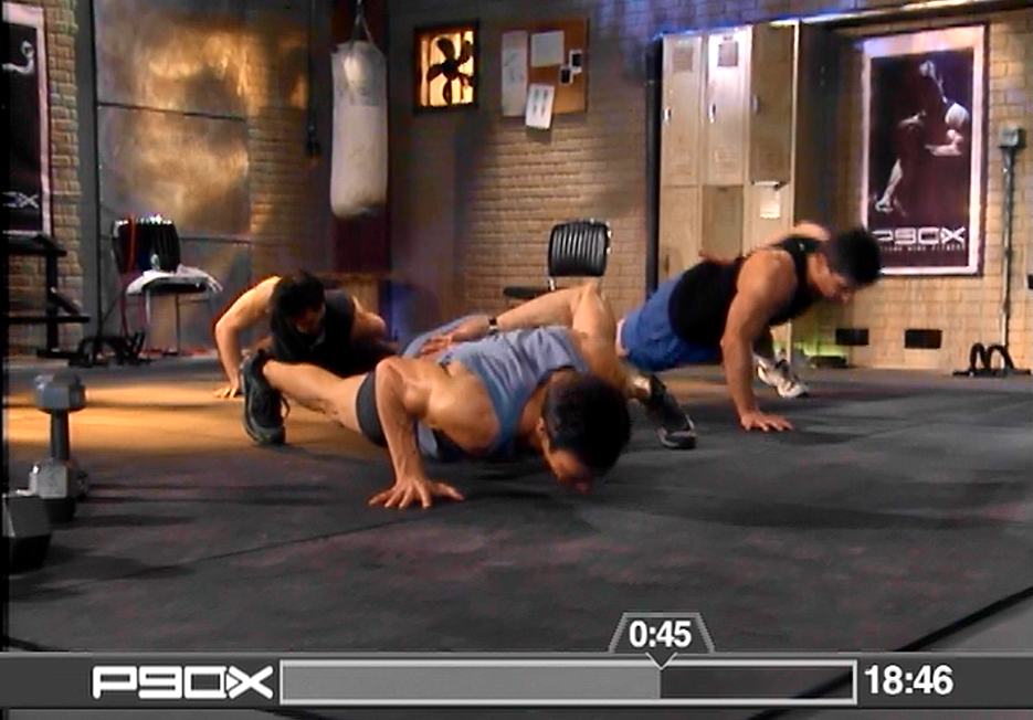 P90X One Arm Push Ups