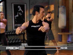 P90X X Stretch Back Up The Car