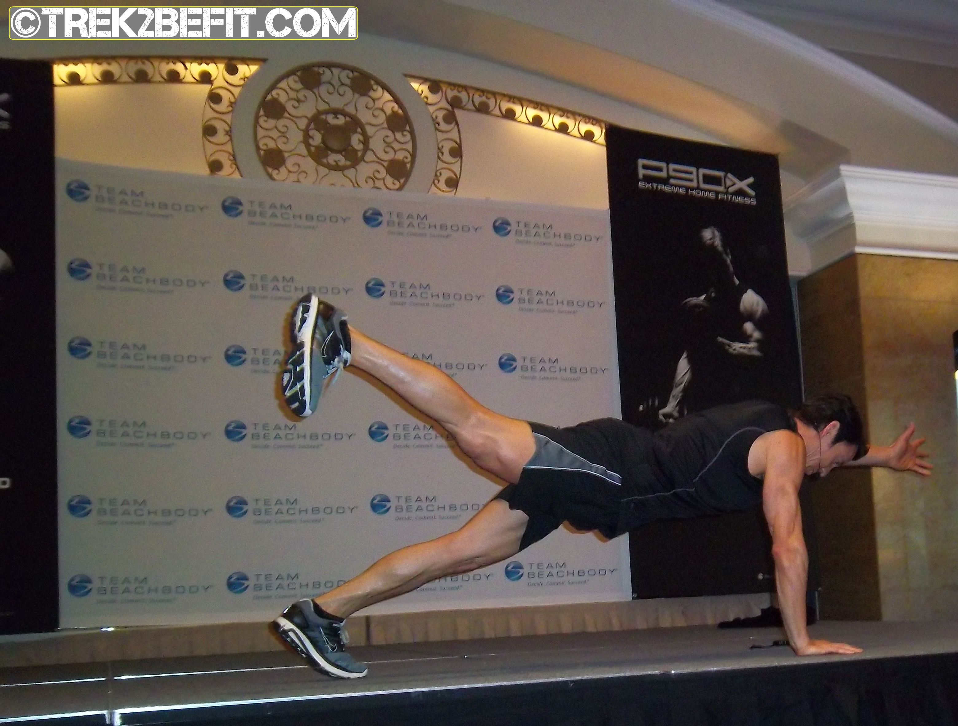 Tony Horton – Workout With The P90X Creator Part 2