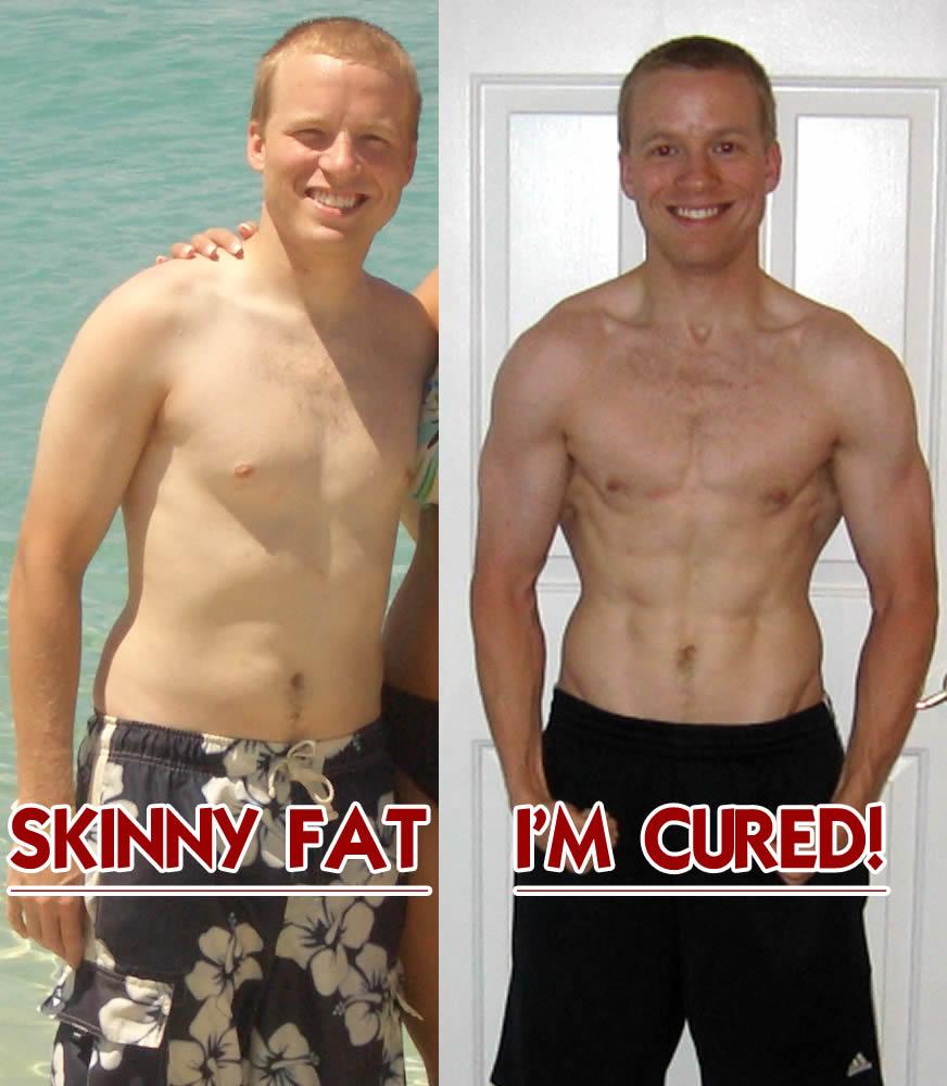 Chubby to skinny