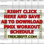 P90X Workout Schedule – Trek2BeFit com