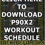 P90x2 Schedule Pdf