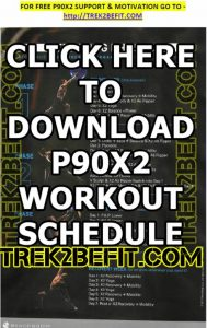 P90X2 Workout Schedule PDF