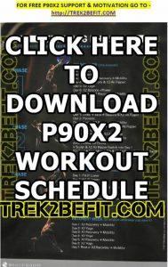 P90X2 Workout Schedule – Trek2BeFit com
