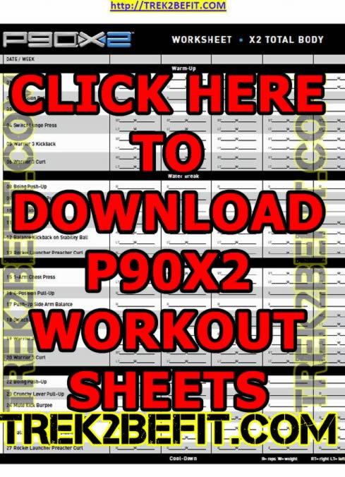 P90X2 Workout Sheets – Trek2BeFit com