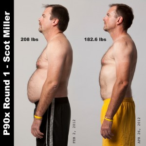 P90X Results Scot - Side